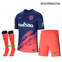 Atletico Madrid Away Uniform 2021/22