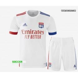 Olympique Lyonnais Home Kit 2020/21