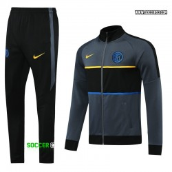 Inter Milan Training Suit 2020/21 - Gray