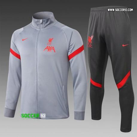 Liverpool Training Suit 2020/21 - Gray