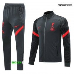 Liverpool Training Suit 2020/21 - Black