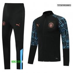 Manchester City Training Suit 2020/21 - Black