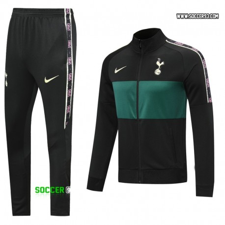 Tottenham Training Suit 2020/21 - Black