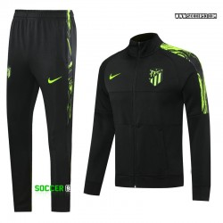 Atletico de Madrid Training Suit 2020/21 - Black