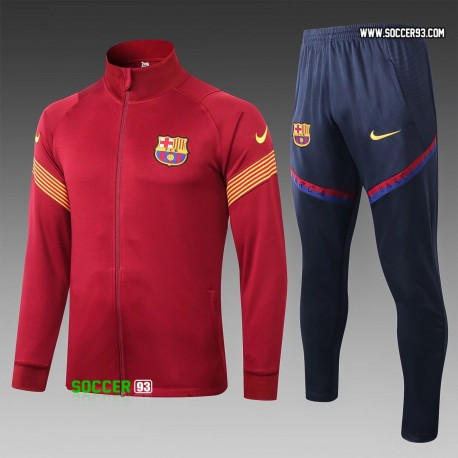 Barcelona Training Suit 2020/21 - Red