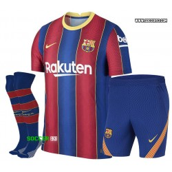 Barcelona Home Uniform 2020 21 of MESSI